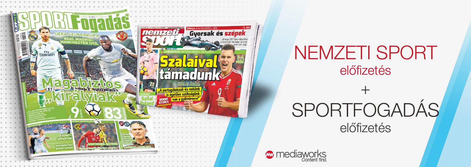 Nemzeti Sport + Sportfogadás
